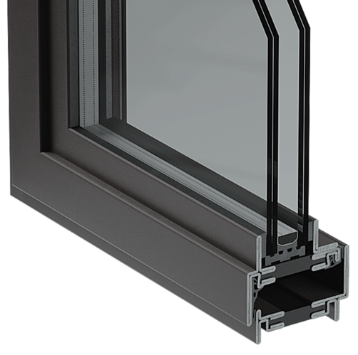 HTS Thermally Broken Steel Window and Door Frame Series